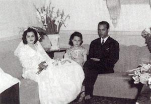 گذری بر زندگی دکتر علی شریعتی  تصاویر عروسی ایشان