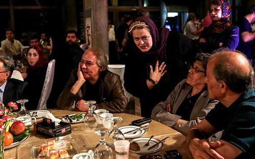 بازیگران مشهور در پنجمین شب کانون کارگردانان سینمای ایران