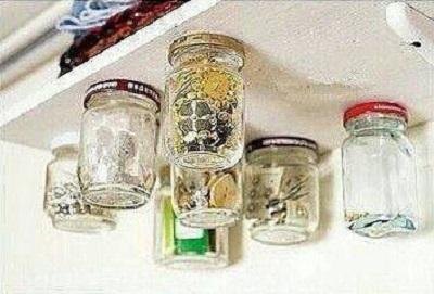 شیشه در آشپزخانه