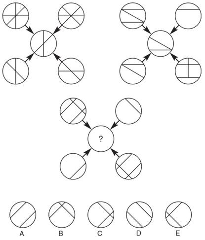 تست هوش دایره های علامت گذاری شده