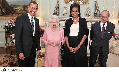 عکس : دیپلماسی مد همسر اوباما