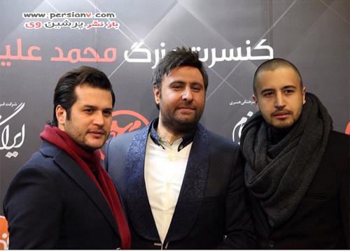 جشن تولد ویژه ی بازیگر مشهور سینما برای مادرش در کنسرت محمد علیزاده