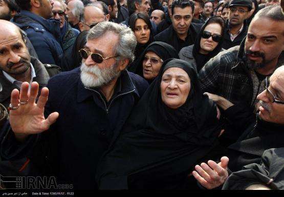 مادر زنده یاد حسن جوهرچی