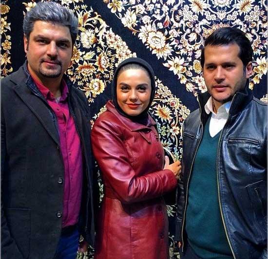 بازیگران نقش های باران، نادر و فرید سریال «آوای باران» در فرش فروشی
