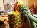 تزئین زیبای آناناس به شکل طوطی