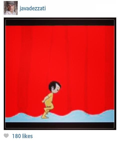 عکس های جالب در صفحه فیسبوک هنرمندان