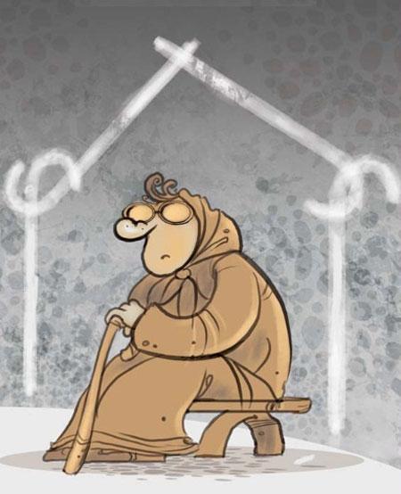 کاریکاتور زندگی مجردی پسرها و دخترها