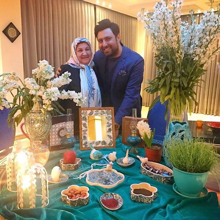 سفره هفت سین و تبریک عید نوروز توسط چهره های مشهور