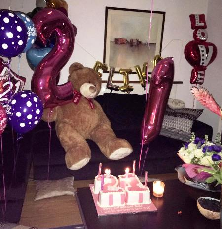 عکس جشن تولد خواهر الناز شاکردوست! الیکا شاکردوست 21 ساله شد!