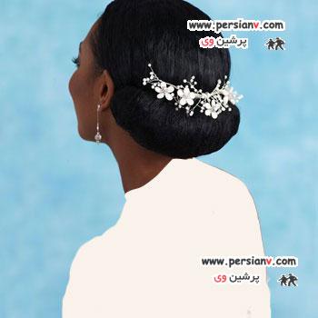 مدل موی عروس آفریقایی- آمریکایی (سری دوم)