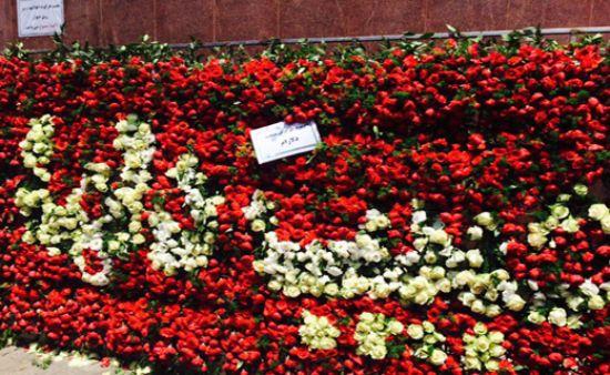 مراسم هفتم حبیب محبیان با حضور پسرانش / تیپ متفاوت محمد محبیان در مراسم