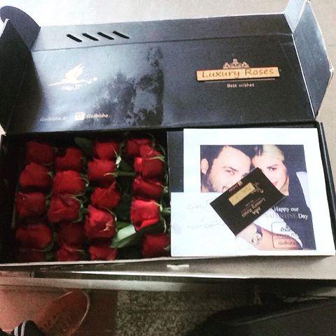 غافلگیر شدن مهدی سلوکی توسط همسرش با یک هدیه جالب و زیبا !