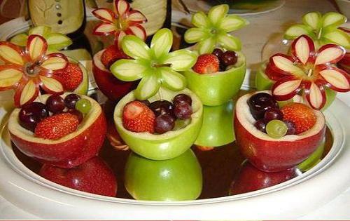 تزیین میوه تولد کودک عکس