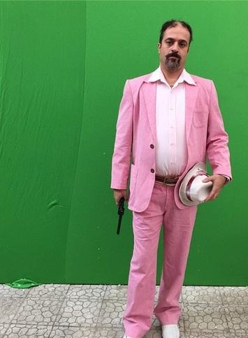 تیپ جالب احمد مهران فر در سریال «ابله»