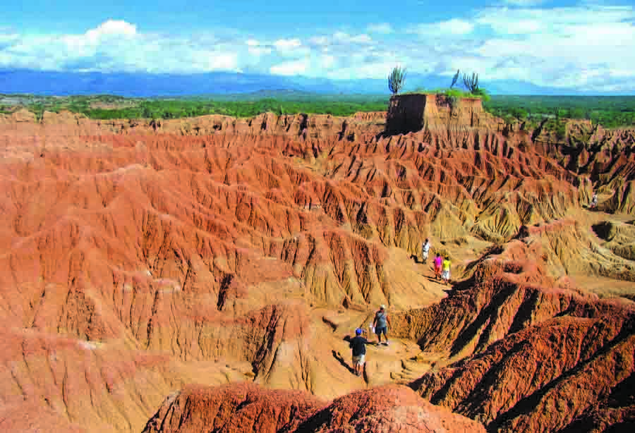 بیابان تاتاکوآ, پرطرفدارترین مکان ها برای گردش های زمین شناسی