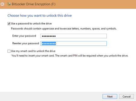 آموزش رمز گذاری روی درایو در ویندوز 8