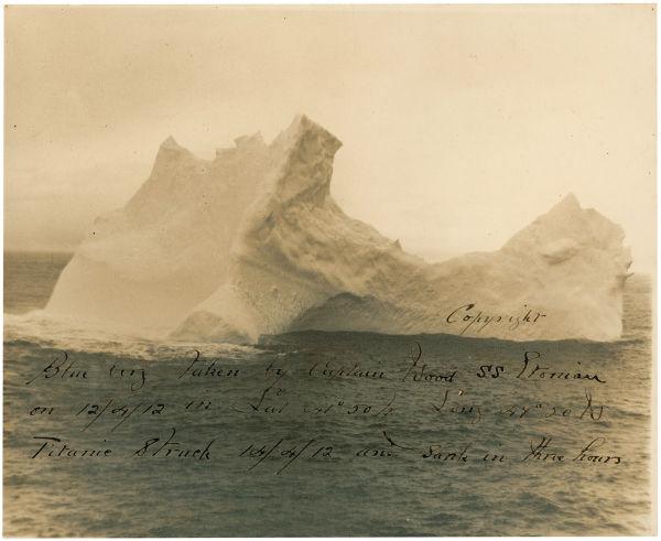 حراج تصویری که با غرق شدن تایتانیک مشهور شد