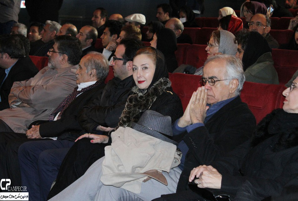 تصاویری از حضور کتایون ریاحی در مراسم تقدیر از هنرمندان دوبله ایران