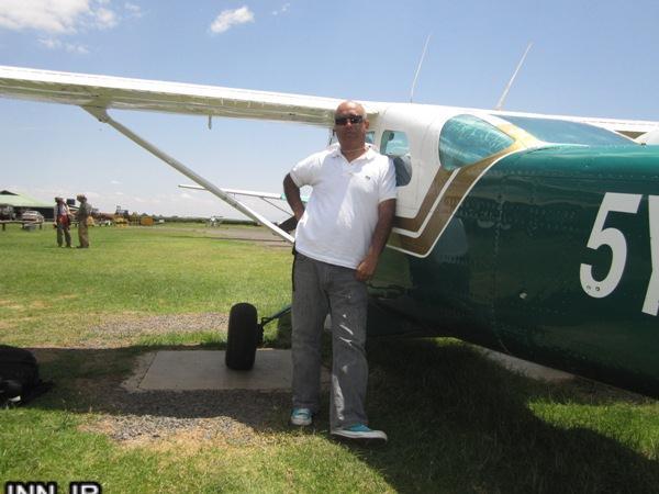 سقوط هواپیمای ملخ دار حامد بهداد! عکس