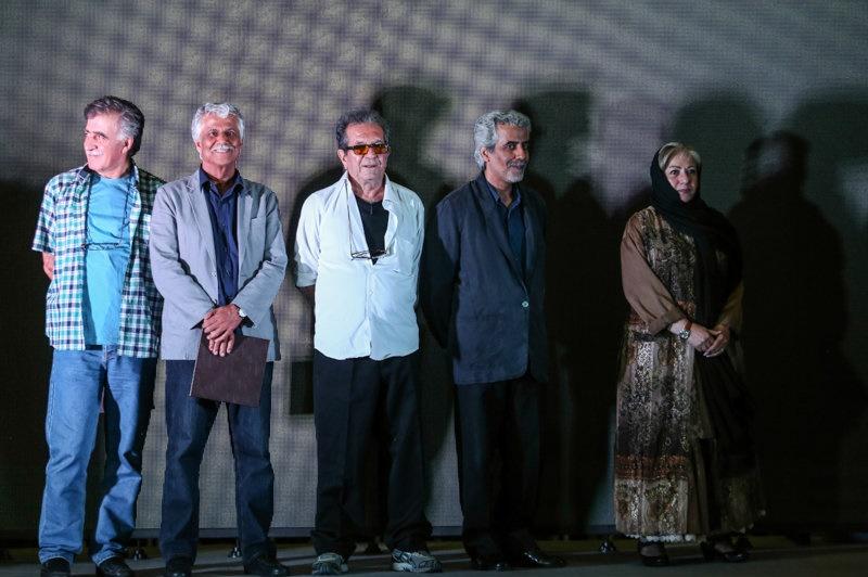 بازیگران و هنرمندان مشهور در جشن کارگردانان سینمای ایران