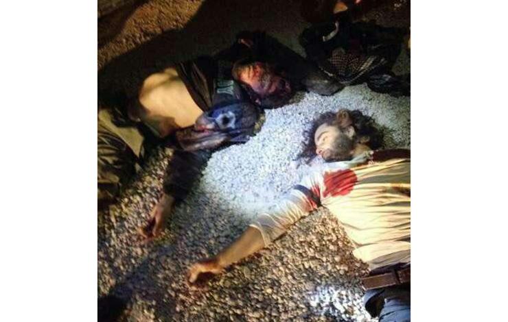 داعشی های مجهزبه جلیقه انفجاری درکرمانشاه به هلاکت رسیدند