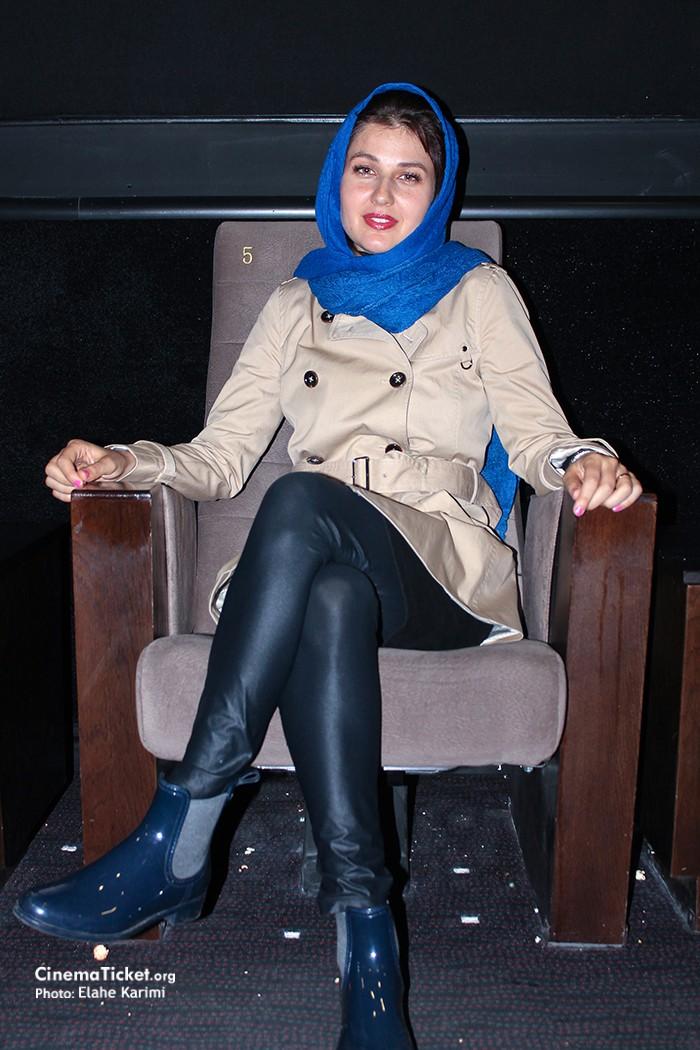 تیپ جدید گلوریا هاردی و طناز طباطبایی در مراسم اکران مردمی فیلم خشم و هیاهو