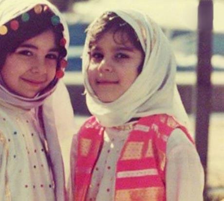 عکس دیده نشده از کودکی سحر دولتشاهی