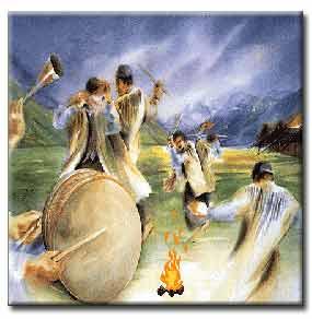 چهار شنبه سوری از آیین باستانی ایران
