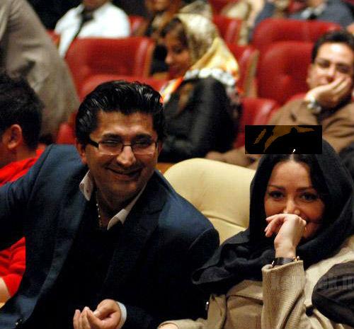 شیلا خداداد و همسرش در کنسرت روزبه نعمت اللهی