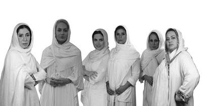 دورهمی شکسپیری مهناز افشار و پنج زن دیگر