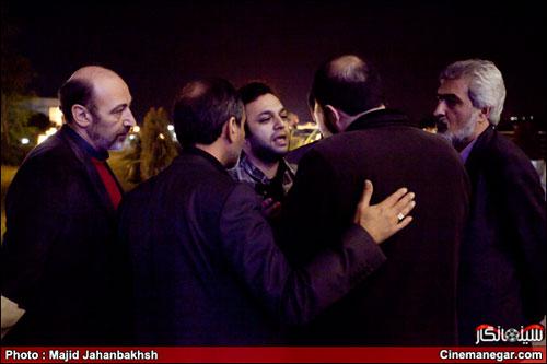 برخورد حراست برج میلاد با یک بازیگر ( عکس)