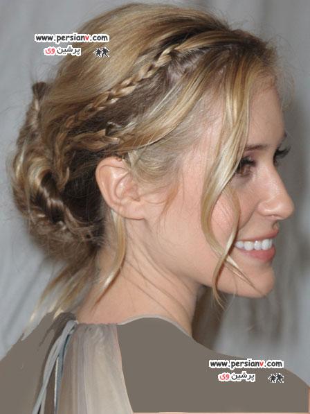 مدل موهای بافته شده (سری دوم)  عکس