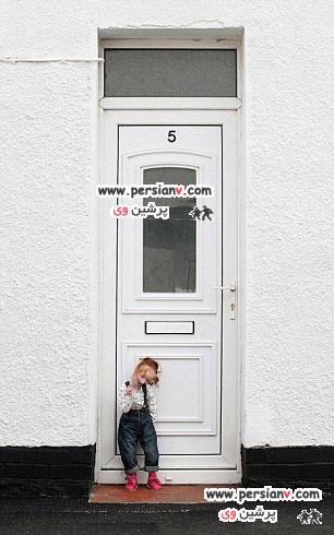 کوچکترین دختر جهان به مدرسه رفت عکس