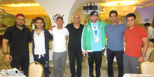 تیم ملی فوتبال هنرمندان در مسکو