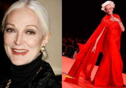 انتخاب 4 زن مانکن و بازیگر بالای 65 سال!