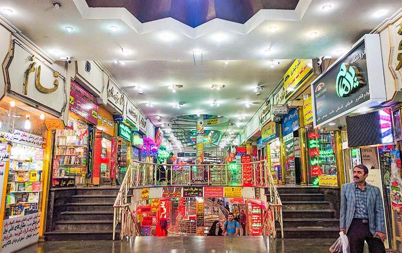 گشتی دربازار کتاب فروزنده تهران