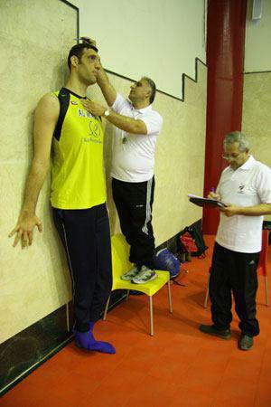 زندگینامه مرتضی مهرزاد ، والیبالیست تیم ملی ایران ملقب به آسمان خراش ایرانی