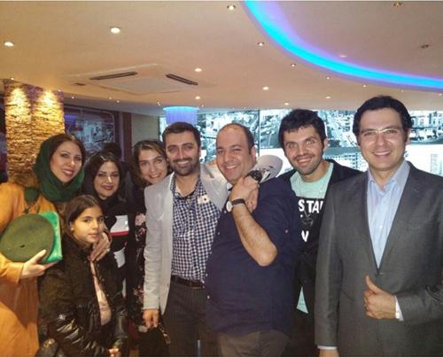 بازیگران و هنرمندان مشهور در سالگرد رستوران طهران پارس