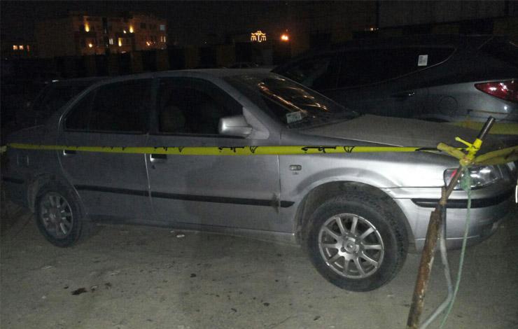 شلیک در پارکینگ بیمارستان عرفان