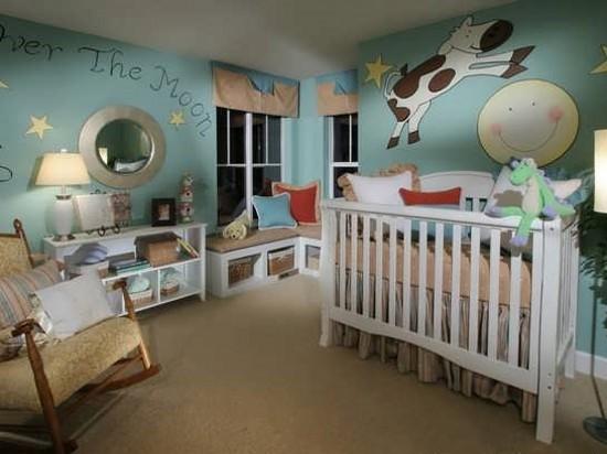 ایده های نو در چیدمان اتاق نوزاد