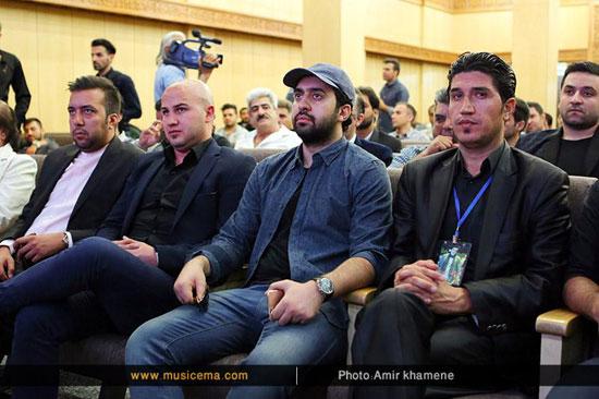 افراد مشهوری که در مراسم هفتم حبیب شرکت کردند ، از پوری بنایی و مهدی یراحی تا مجید خراطها
