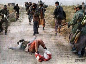 عکس؛ مردی که آلت تناسلی اش را طالبان برید( 18)