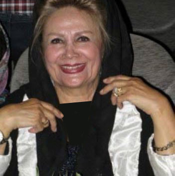 عکس: تهمینه اطمینان مقدم، همسر ایرج قادری