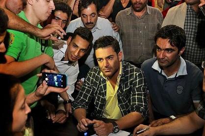 """جدیدترین تصاویر محمد رضا گلزار در مراسم اکران ویژه فیلم سینمایی"""" دهلیز"""""""